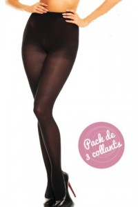 Microstar 50 Pack 3 collants Noir