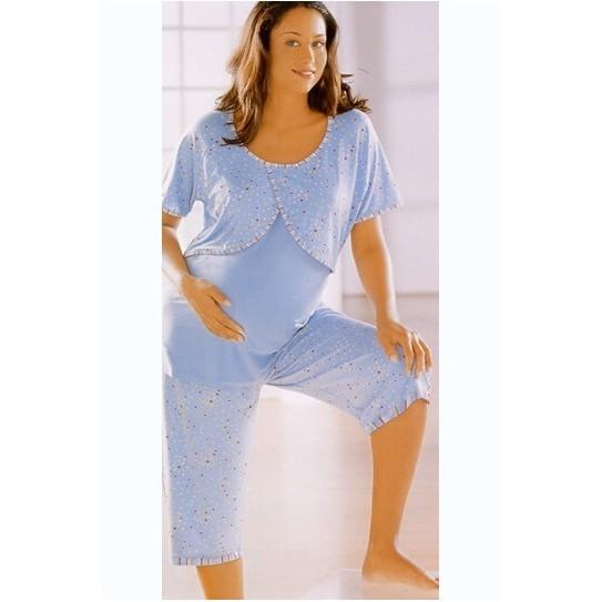Pyjama spécial Allaitement, bleu, 38/40 de Anita
