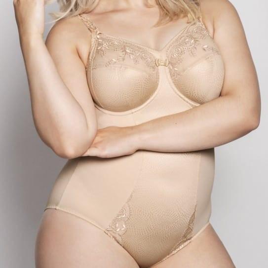 Ella Body Bonnets H & I avec armatures coloris Biscuit Effet modelant