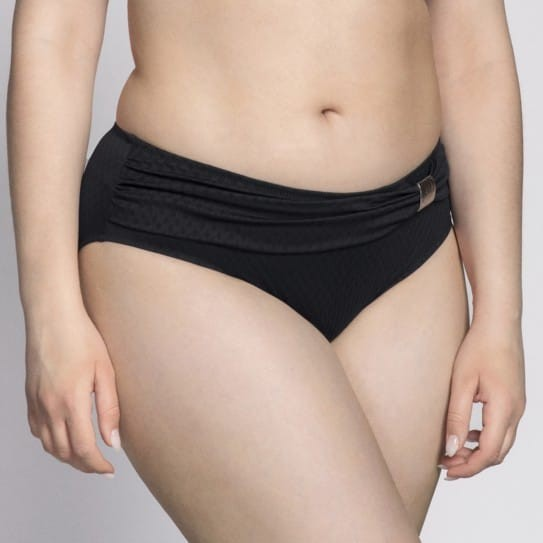 Bikini Grande Taille coloris Noir Saint-Tropez