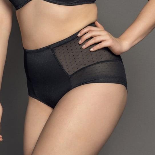 Culotte Gainante Femme Grande Taille 40 à 58 Noire Meghan