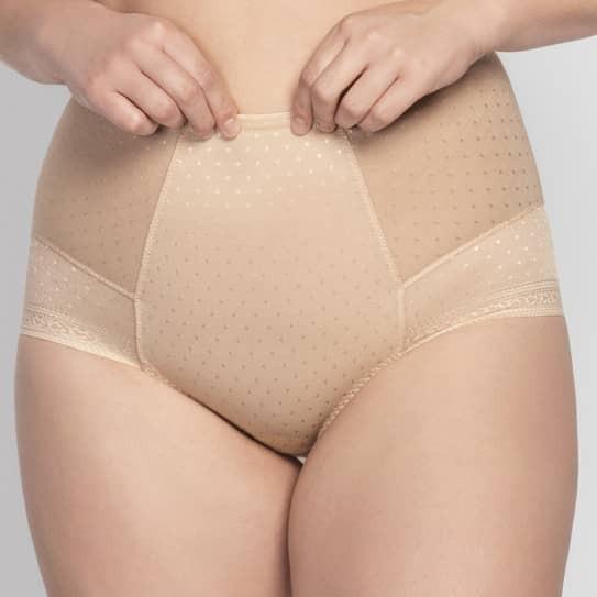 Culotte Gainante Femme Grande Taille jusqu'au 58 couleur Biscuit Meghan