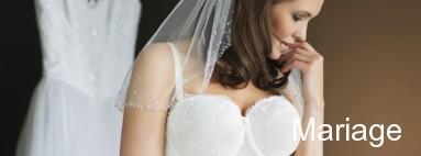 Lingerie femme grande taille pour le mariage